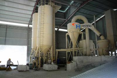 方解石雷蒙机生产线助力广西方解石产业化发展
