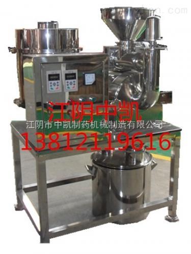 关于明胶专用无尘粉碎机的流程及运行原理