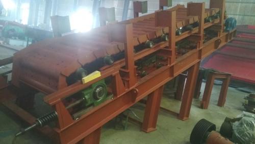 板式喂料机轴头磨损新工艺修复