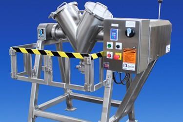 Ross卫生滚筒搅拌机适用于极少量活性成分和添加剂的特种混合物