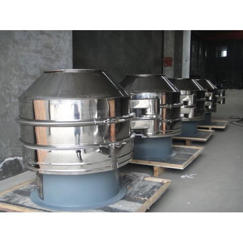 碳酸钙专用加缘式振动筛分过滤机