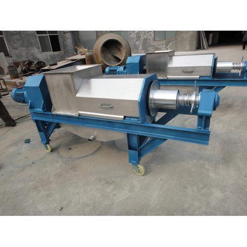 葡萄酒生产设备3T双螺旋压榨机